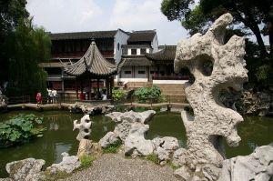 Il giardino del bosco leonino, Jiangsu, Cina. XIV secolo.