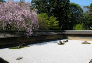 Giardino Ryoanji, Kyoto, Giappone. XV secolo.