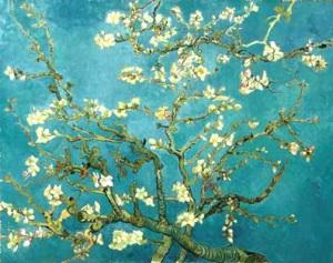 V. Van Gogh, fioritura del mandorlo.
